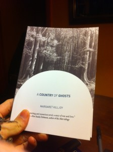 a country of ghosts - proof copy
